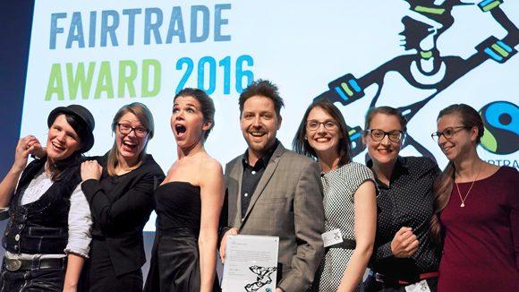 Jan Spille gewinnt den Fairtrade Award 2016